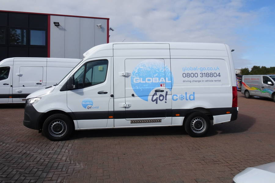Mercedes Benz Sprinter for hire from Global Go!