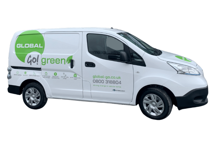 Nissan e-NV200 for hire from Global Go!