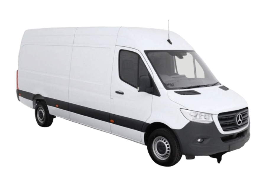Mercedes Sprinter for hire from Global Go!